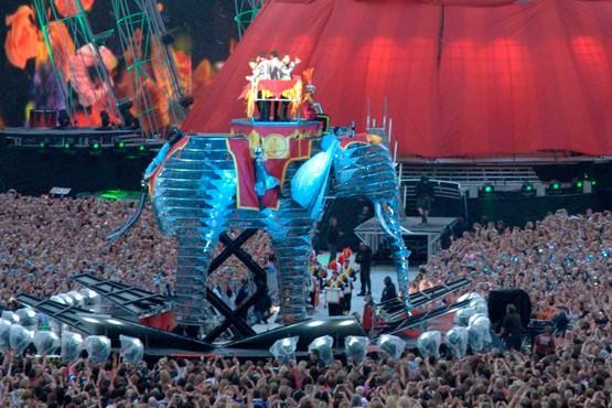 Take That Circus Tour Elephant